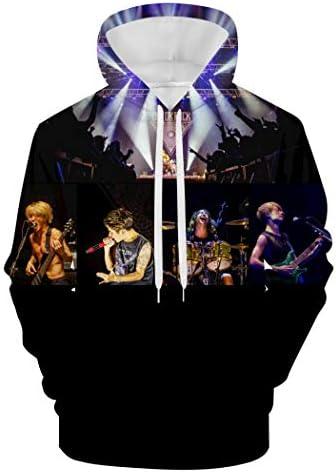 Men's Hoodie メンズパーカー One Ok Rock ジャケット ァッション 秋の冬男の人 スウェット トレーナー プルオーバー裏起毛 衛の衣