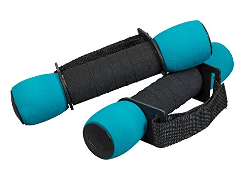 GetFit 3 Pound Walking Weights Comfortable/Easy Grip/Enhanced Cardio Workout