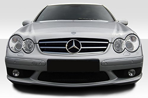 (Duraflex ED-XXD-985 AMG Look Front Bumper Cover - 1 Piece Body Kit - Compatible For Mercedes CLK 2003-2009)