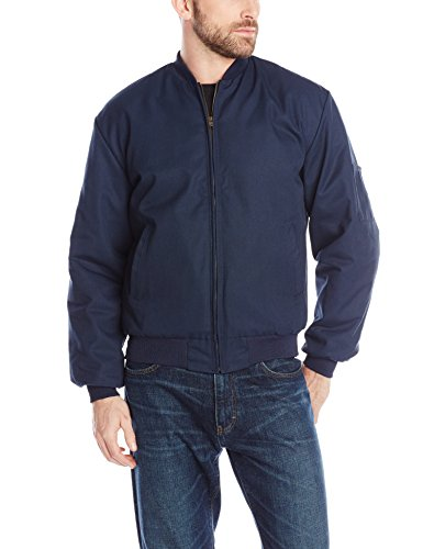 Red Kap Men's Solid Team Jacket, Navy, Large from Red Kap