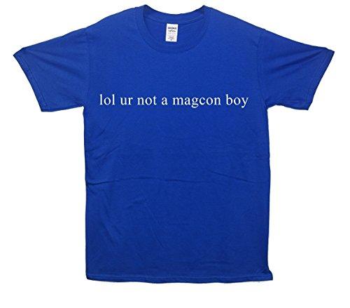 Lol ur Not A Magcon Boy T-Shirt - Blau - Large (107cm-112cm)