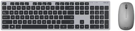 ASUS W5000 wireless Keyboard+Mouse Deutsches Layout grau