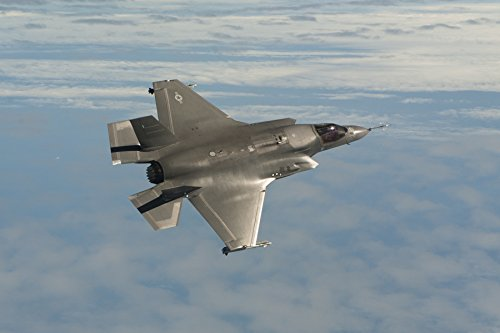 Jsf Strike Fighter - Home Comforts Laminated Poster Navy Test Pilot Lt. Christopher Tabert Flies F-35B Joint Strike Fighter (JSF) Aircraft BF-3 with ine Vivid Imagery Poster Print 24 x 36