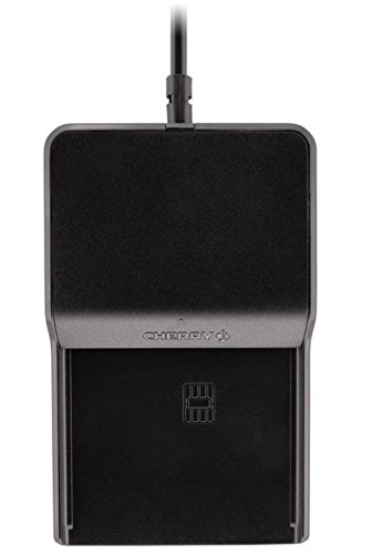 Cherry TC1100 Stand Alone PCSC/EMV Contact Smart Card Reader Black Usb JT-0100WB-2