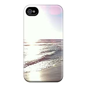 Excellent Design Colours Of Silver Phone Case For Iphone 4/4s Premium Tpu Case