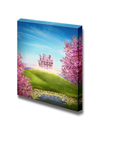Fairy Tale Landscape with Castle Wall Decor ation