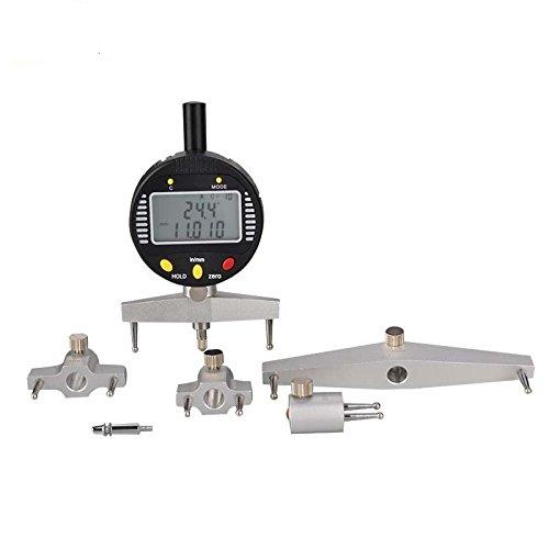 High Accuracy Digital Radius Gauge Digital Radius Indicator Measurement Tool with Five Measuring Jaws B0779X7JJZ
