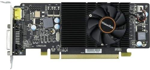VisionTek Graphics Card HDMI PCIe 2.1 x16 Low Profile Radeon HD 6570-2 GB DDR3 DVI