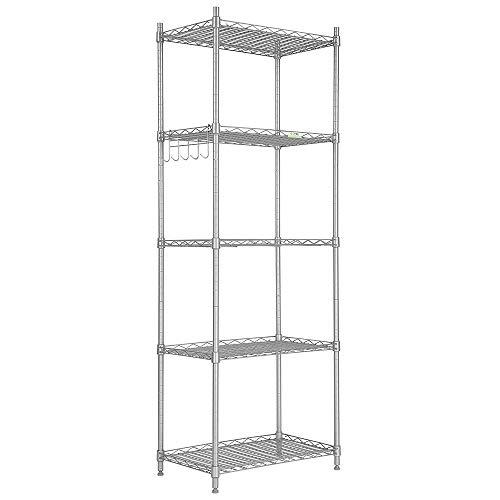 Cozzine 5 Tier Storage Shelves, Adjustable Storage Shelves 21
