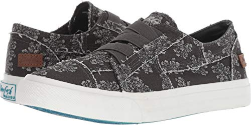 Blowfish Women's Marley Dark Grey/Nightfall Print 6 M US M