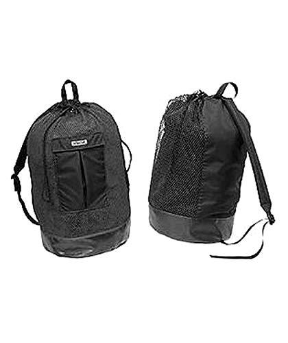Stahlsac Panama Original MESH Backpack with Dry Pocket (Black)