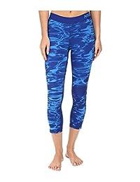 Nike Pro Cool Pool Print Training Capri Light Photo Blue/Light Photo Blue Womens Capri