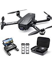 Holy Stone HS720E 4K EIS Drone with UHD Camera for Adults, Easy GPS Quadcopter for Beginner with 46mins Long Flight, 5GHz FPV Transmission, Brushless Motor, Return Home, Follow Me & Anti-Shake Camera