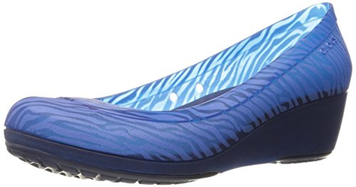 Animale Navy cerulean Miniwedge Carlisa Crocs Nautical Blue Graphic 4ayqCWWBH5