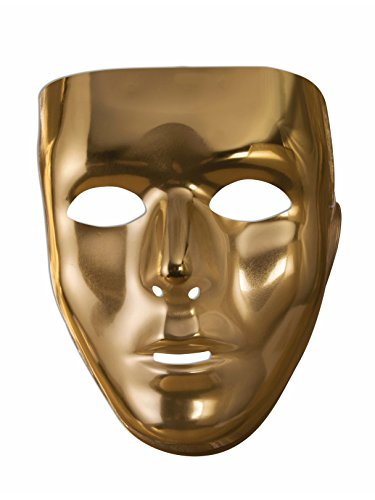 Gold Full Face Mask � Costume Accessory]()