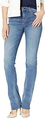 7 For All Mankind Women's B(Air) Kimmie Straight Jeans in Amazing Heritage B(Air) Amazing Heritage 32 - Mankind Belt Cotton 7 All For