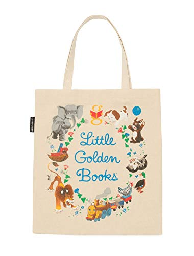 Out of Print Little Golden Books Canvas Tote Bag (Check Canvas Tote)