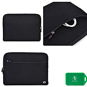 MSI X370-205US Universal sleeve/light weight/durable with front pocket and internal card slot in black/black