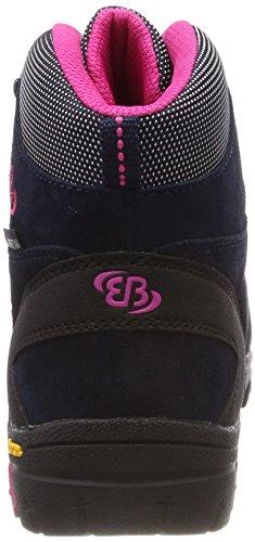Hautes Mount Marine Randonnée Bona Bleu Chaussures High Brütting Pink de Femme n7C1qw1Y