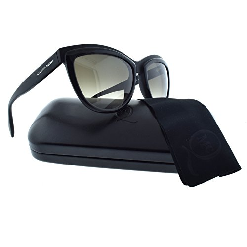 Alexander McQueen 4247S 3B6HA Matte Black 4247S Cats Eyes Sunglasses Lens - Mcqueen Alexander Sunglasses Case