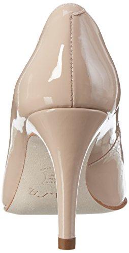 para pa punta cerrada Unisa color con de Tacones mujer rosa Ballet Techi xwRqBICWX