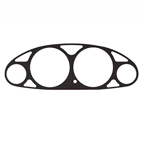 Ferreus Industries Carbon Fiber Vinyl Gauge Cluster Dash Bezel Trim fits: 1994-2001 Acura Integra All Models BZL-133-Carbon-a ()