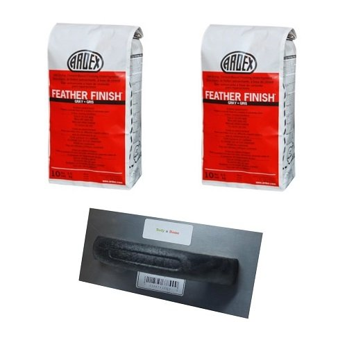 (2 Bags of Ardex Feather Finish & Floor Patching Trowel)