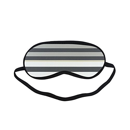 Sleeping Mask Colourful Stripe PTEM459 Blindfold Eye Travel Relax Party