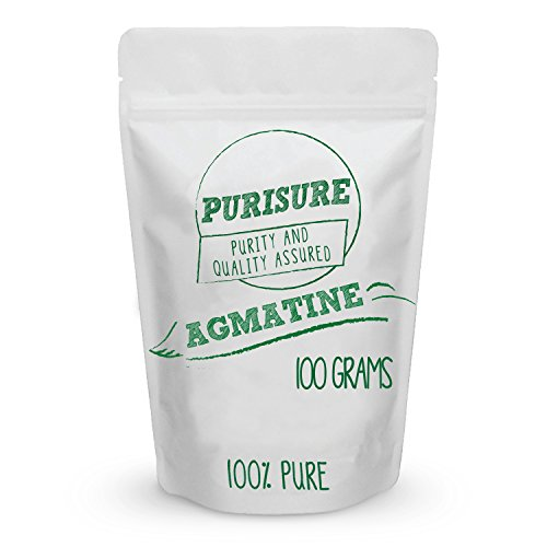 Purisure Agmatine Powder 100g (200 Servings) | Physical Energy Booster | Improves Strength | Boosts Nitric Oxide | Increased Blood Flow