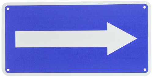 (NMC TMA5G Traffic Sign with Right Arrow Graphic, 6