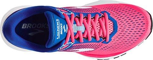 Brooks 5 Pink Launch Weiß Blau Laufschuhe Damen qRaOwx7qZ
