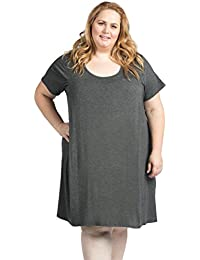 The Original Maternity Nursing Breastfeeding Nightgown Dress Plus Size ee821ac56