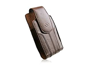 Naztech Kaskade Case - Most Flip And Bar Phones - Blackberry, Palm, Samsung, LG, Motorola, Nokia, and Sanyo - Brown