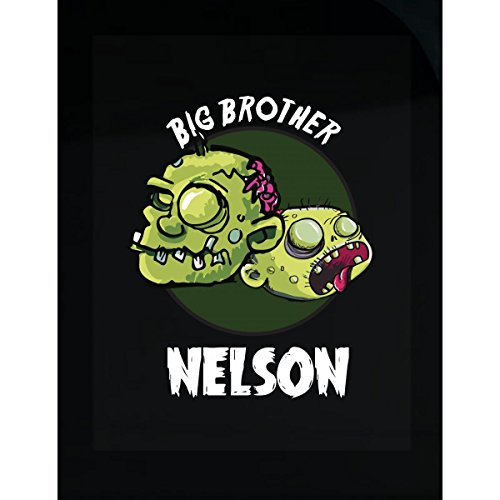 Prints Express Halloween Costume Nelson Big Brother Funny Boys Personalized Gift - Sticker -