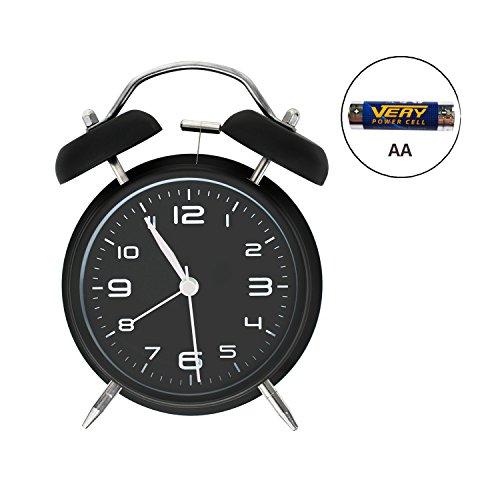 Quartz Analog Alarm Clock - 9