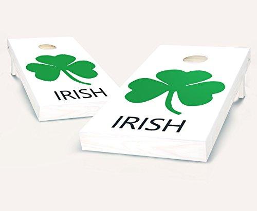 Tailgating Pros Irish Cornhole Boards With Set of 8 Cornhole Bags