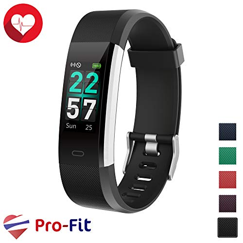 Pro-Fit Smart VeryFitPro Fitness Tracker IP68 Waterproof Activity Tracker Heart Rate Sleep Monitor (Black)