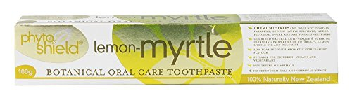 Pacific Resources Phyto-Shield Botanical Oral Care Toothpaste Lemon-Myrtle, 3.5 oz.