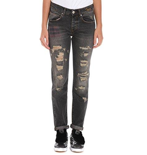 PINKO Damen 1J1080Y41ZI89 Grau Baumwolle Jeans phkhaLhiR