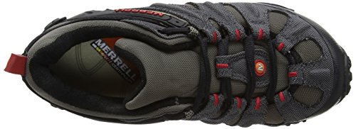 Merrell Chameleon Wrap Slam, Mens Trekking E Scarpe Da Trekking Grigie (carboncino / Masso)