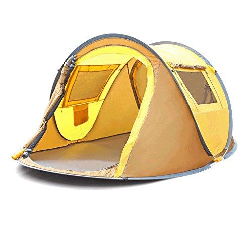 部分的に可能所得TLMY 自動テントアウトドアスピードオープン2名3?4名シンプルな蚊帳ポータブルキャンプルーム無料ビルド テント