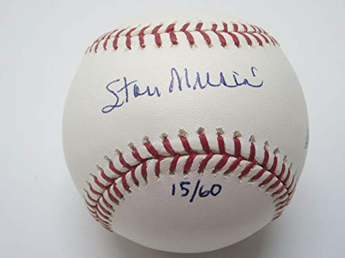 (Stan Musial Autographed Baseball - ROMLB w 3 inscriptions #15 60 COA - JSA Certified - Autographed Baseballs)