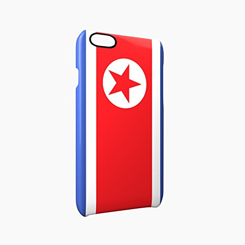 Flag of North Korea Glossy Hard Snap-On Protective iPhone 6 Plus + / 6S Plus + Case Cover