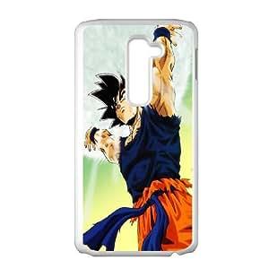 LG G2 Cell Phone Case White Son Goku SU4499354
