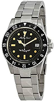 MATHEY-TISSOT Rolly Vintage Black Dial Men's Automatic Watch