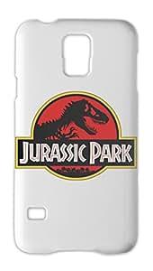 Jurassic Park Logo Samsung Galaxy S5 Plastic Case
