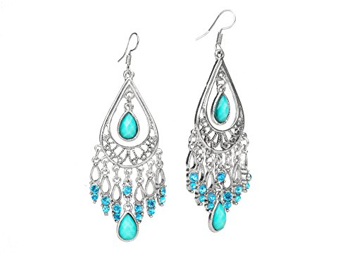 Fashion Bohemian Earrings For Women Long Dangle Chandeliers Earrings EAG080-G
