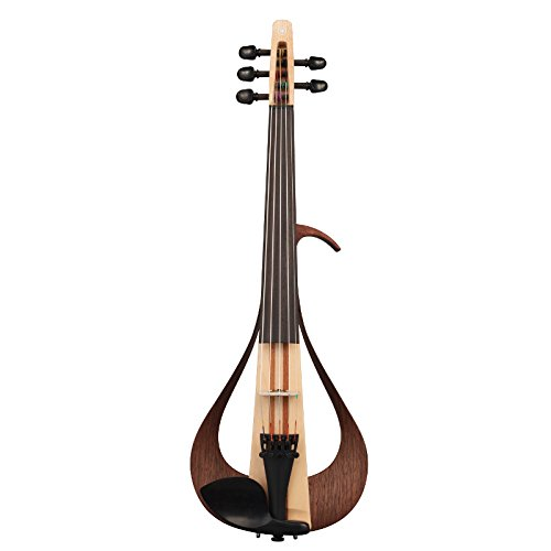 Yamaha YEV105NT Electric Violin, Natural, 5 String by Yamaha