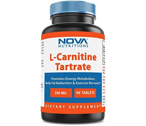 (Nova Nutritions L-Carnitine 500 mg 90)
