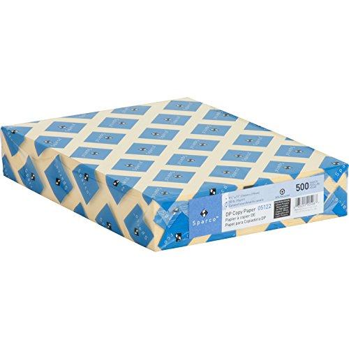 Sparco 05122 Premium Copy Paper, 20Lb, 8-1/2